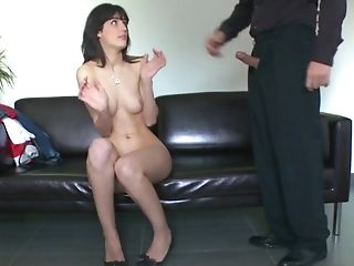 Amateur, Babe, Blowjob, Brunette, Carol Vega, Casting, Cute, European, From Behind, Hardcore,