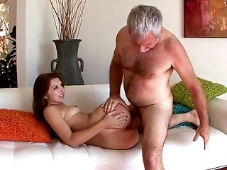 American, Bold, Couch, Family, From Behind, Natural Tits, Old And Young, Riding, Seduction, Stepdad,