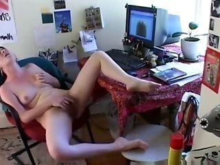 Babe, Boobless, Hairy, Hidden Cam, Jerking, Masturbation, Rough, Solo,