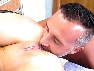 Ball Licking, Big Tits, Blonde, Blowjob, Bodystocking, Cumshot, Doctor, Facial, Hardcore, HD,