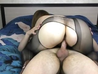 Amateur, Ass, Babe, Big Ass, Brunette, Creampie, Cum, Cum On Ass, Cumshot, European,