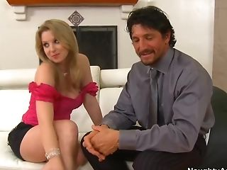 Blonde, Blowjob, College, Felching, HD, Husband, MILF, Old, Sunny Lane,