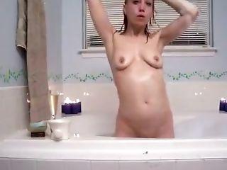 без груди, домашнее, Horny, мастурбация, рыжие, в душе, худышка, соло,