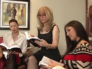 Friend, Hotel, Lesbian, Mature, Nina Hartley, Orgy,