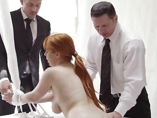 Bimbo, Pipe, Soutien-gorge, Couple, Levrette , Merveilleux , Masturbation , Hardcore , Cheveux Longs, Deux Hommes Et Une Femme,