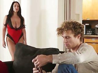 Angela White, Ass, Australian, Big Tits, Blowjob, Cuckold, Cumshot, Curvy, Cute, Dick,