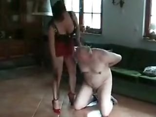 BDSM, Couple, Fat, Femdom, Spanking, Ugly,