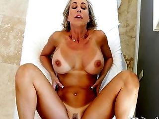 Big Cock, Big Tits, Blonde, Blowjob, Brandi Love, Caucasian, Couple, Deepthroat, Ethnic, From Behind,