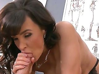 Anal Sex, Ass, Big Tits, Brunette, Doctor, Huge Tits, Lisa Ann, MILF, Nurse, Oiled,