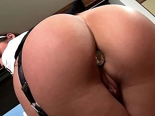 Anal Creampie, Anal Toying, Big Tits, Cumshot, Doggystyle, Hardcore, High Heels, Interracial, Lingerie, Long Hair,