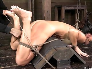 BDSM, Big Tits, Bondage, Brunette, Fetish, Submissive, Torture,