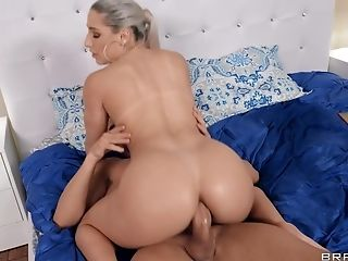 Amazing, Anal Sex, Ass, Babe, Bedroom, Blonde, Blowjob, Couple, Cowgirl, Doggystyle,