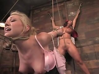 BDSM, Experienced, Hogtied, Samantha Sin, Trina Michaels,