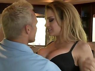 Big Tits, Blonde, Blowjob, Cumshot, Cunnilingus, Facial, Hardcore, Kagney Linn Karter, Pornstar, Squirting,