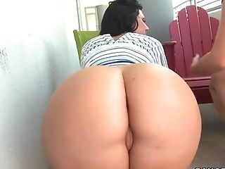 Ass, Ava Rose, Big Ass, Brunette, HD, Lesbian, Luscious Lopez,