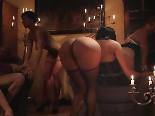 Anal Sex, Anissa Kate, Anna Polina, Babe, Beauty, Blonde, Couch, European, Group Sex, Hardcore,