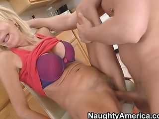 Big Tits, Blonde, Blowjob, Boobless, Cute, Erica Lauren, Facial, Friend, Hairy, HD,