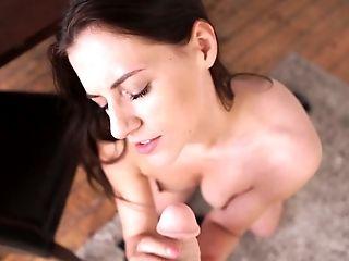 Bellezza, Bruna, Carino, Cazzo, Dildo, Horny, Minuto, Punto Di Vista, Giocattoli Sessuali, Sexy,