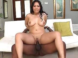 BBW, Big Ass, Big Black Cock, Big Cock, Brunette, Ethnic, HD, Interracial, Jessica Bangkok, Latina,