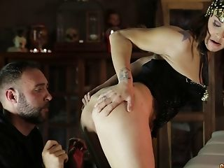 Anal Sex, Ass, Boobless, Couple, Hardcore, Long Hair, Screaming, Tattoo,