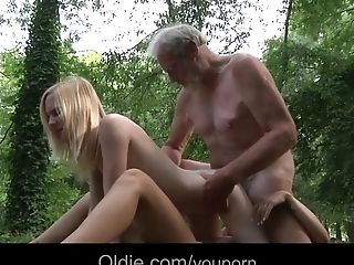 18, Babe, Blonde, Blowjob, Cumshot, Grandpa, Group Sex, Hardcore, Huge Cock, Old,