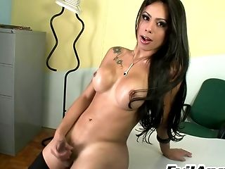 Beauty, Big Cock, Big Tits, Dick, Fondling, HD, Ladyboy, Shemale, Solo,