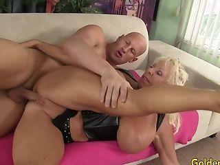 Big Tits, Dick, Granny, Mandi Mcgraw, Mature,