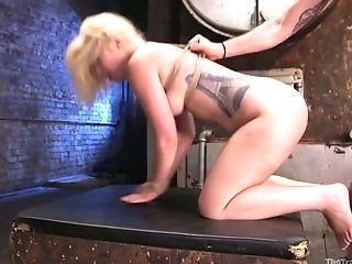BDSM, Big Tits, Blonde, Blowjob, Bold, Bondage, Cowgirl, Cumshot, Deepthroat, Face Fucking,