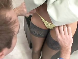 Boy, Fingering, Janet Mason, Legs, Licking, Lingerie, Panties, Pussy, Redhead, Spreading,