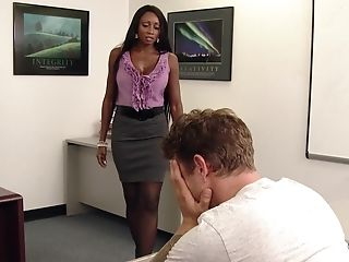 Black, Blowjob, Classroom, College, Diamond Jackson, Interracial, MILF, Office, Old, Story,