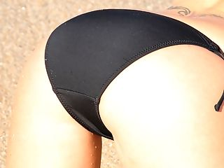 Ass, Big Tits, Bikini, Blonde, Blowjob, Dick, Felicia Fallon, Handjob, Masturbation, MILF,