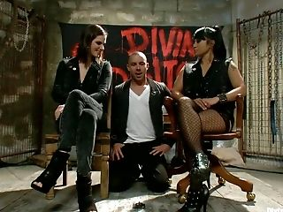 Audition, BDSM, Bobbi Starr, Brunette, Dragon Lily, Femdom, Hardcore, HD, Maitresse Madeline,