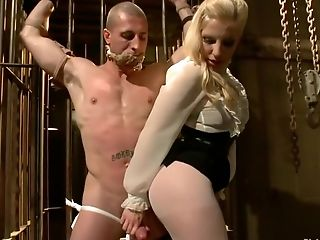Anal Sex, Ashley Fires, BDSM, Fetish, Pantyhose, Strapon,