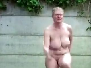 Big Tits, Homemade, Outdoor, Solo, Wife,